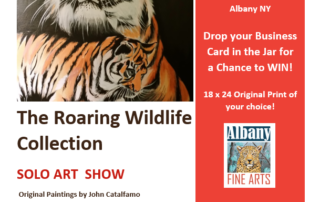 Albany Fine Arts Flyer